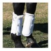 Tendon Boots - TOPTAC Neoprene w/ Fleece WHITE