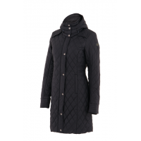 Coat - Noble Outfitters WarmUp Quilted - Black
