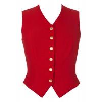 Waistcoat - Ladies Windsor RED