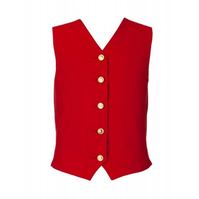Waistcoat - Childs Windsor RED
