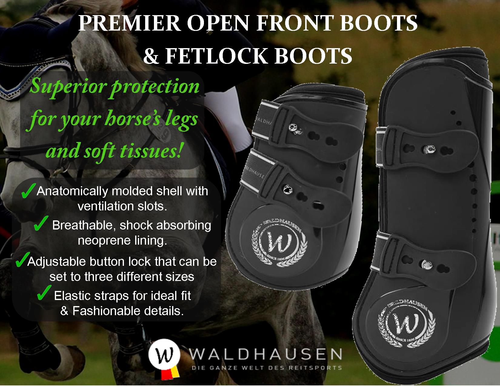 Waldhausen boots banner 7 Sporthorse Saddlery stockists and suppliers of Waldhausen productsjpg